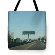 Interstate 70 West Approach Route 180 Exit, 1999 Tote Bag