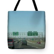 Interstate 70 West At Exit 231b, Earth City Expwy North Exit, 1999 Tote Bag