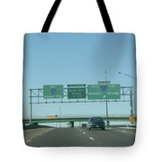 Interstate 70 West At Exit 232, Interstate 270 Exits, 1999 Tote Bag