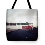 Interstate 74 East Approach Exit 94, Industrial Spur Exit, 1987 Tote Bag