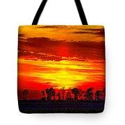 Interstate Sunset Tote Bag