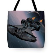 Interstellar Spacecraft Tote Bag