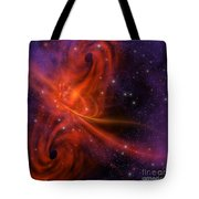 Interstellar Twister Tote Bag