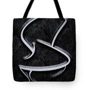Interesting In Black Tote Bag