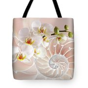 Intimate Fusion In Soft Pink Tote Bag