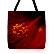 Intimate Hibiscus Tote Bag