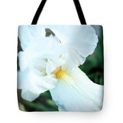 Intimate Iris Tote Bag