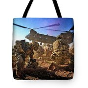 Into Battle - Painting Tote Bag