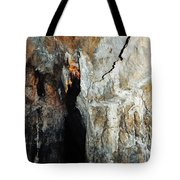 Into Crystal Cave Tote Bag
