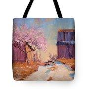 Into Spring Tote Bag