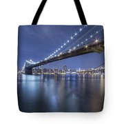 Into The Arms Of The Night Tote Bag