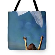 Into The Atmosphere Tote Bag