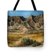 Into The Badlands South Dakota Tote Bag