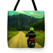 Into The Bluffs Tote Bag