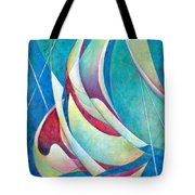 Into The Breeze Tote Bag