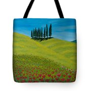 Into The Cypress Land Tote Bag