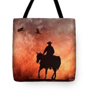 Into The Fire. Tote Bag