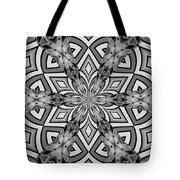 Into The Floral Tote Bag