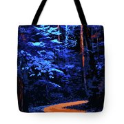 Into The Forest Of Night Tote Bag