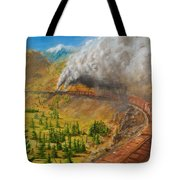 Into The Front Range Tote Bag