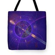 Into The Future Tote Bag