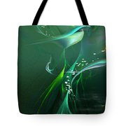 Into The Green...and Beyond... Tote Bag