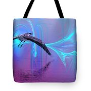 Into The Lagoon Tote Bag
