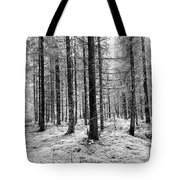 Into The Monochrome Woods Tote Bag