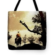 Into The Mountains. Tote Bag