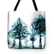 Into The Mysterious Forest Of Imagination Tote Bag