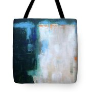 Into The Navy Blue Tote Bag