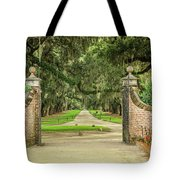 Into The Oaks Tote Bag