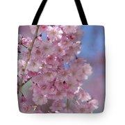 Into The Sakura - Japanese Cherry Blossom Tote Bag