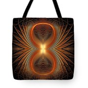 Into The Spider Den Tote Bag