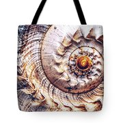 Into The Spiral Tote Bag