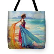 Into The Surf Tote Bag