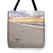 Into The Waves Tote Bag