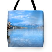 Into The Wild Blue Yonder Tote Bag