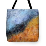 Into The Wind Abstract Tote Bag