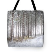Into The Woods 3 - Winter At Retzer Nature Center  Tote Bag