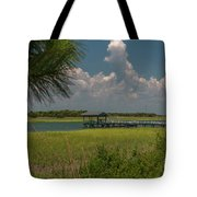 Intracoastal Water In Sullivan's Island South Carolina Tote Bag