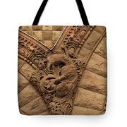 Intricate Cuts, Curves, Lines And Angles At Old City Hall  Tote Bag