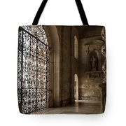 Intricate Ironwork - Lacy Wrought Iron Gates Tote Bag