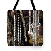 Intricate Rigging Tote Bag