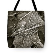 Intricately Frosted Tote Bag