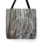Intriguing Winter Frost Tote Bag