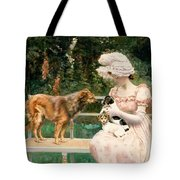 Introductions Tote Bag by Charles Henry Tenre