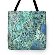 Intuition Unraveled Deep Ocean Tote Bag