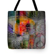 Intuitional Abstract Tote Bag