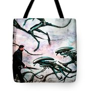 Invation In   A Street . Tote Bag